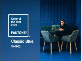 Kolor roku 2020: Classic Blue - psychologia koloru we wnętrzach