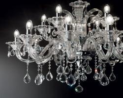 Kryształowe żyrandole Ideal Lux