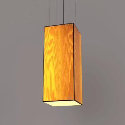 Lampa wisząca LED Wooden TIMBER Ash Wi-fi Control