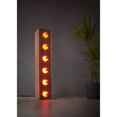 Lampa LED Wooden BAR Elm Wi-fi Control