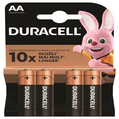 Bateria alkaliczna Duracell MN1500 Basic Duralock AA / LR6 C&B x 4