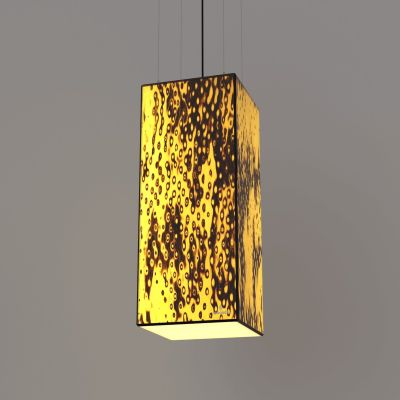Lampa wisząca LED Wooden TIMBER Bircheye Wi-fi Control