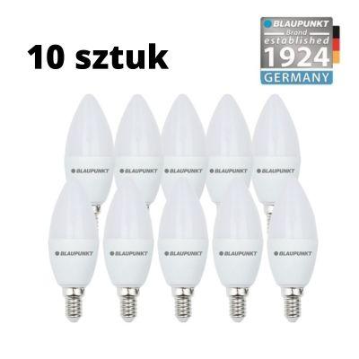 Zestaw 10 szt. - Blaupunkt Żarówki LED E14 6,8W