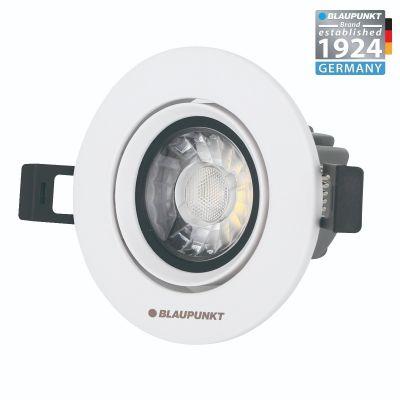 Blaupunkt Lampa LED podtynkowa Spot 7W barwa ciepła