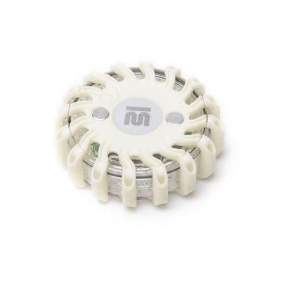 Dysk sygnalizacyjny Mactronic biały z ładowarką