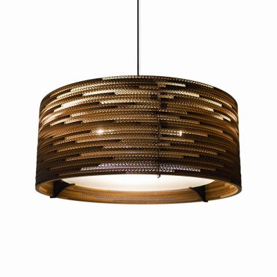 Lampa wisząca Graypants GP-152-a Scraplights Drum24 natural