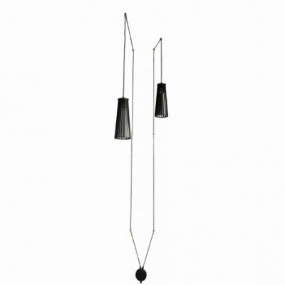 Kinkiet Nowodvorski 9263 Dover Black II Kabel