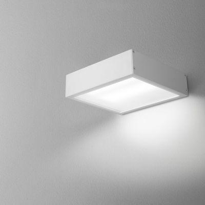 Kinkiet AQForm Slimmer 17 LED Hermetic Wall Biały Mat