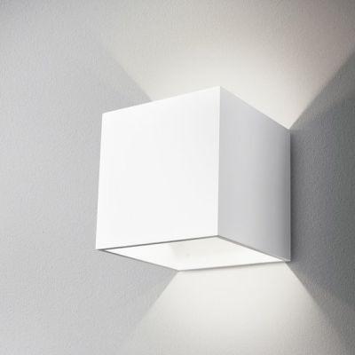 Kinkiet AQForm Maxi Cube Wall Biały Mat