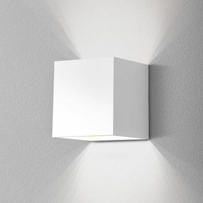Kinkiet AQForm Maxi Cube LED 230V Wall Biały Struktura
