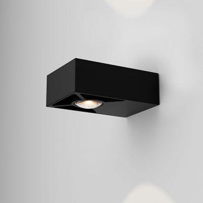 Kinkiet AQForm Golo LED Hermetic Wall Czarny Struktura