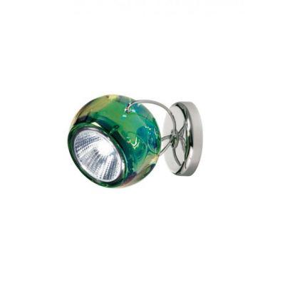 Kinkiet Fabbian D57G1343 Beluga Colour Verde