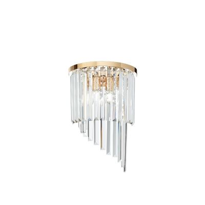Kinkiet Ideal Lux 213491 Carlton AP3 Oro