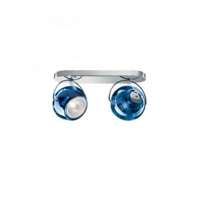 Kinkiet/lampa sufitowa Fabbian D57G2331 Beluga Colour 2 Luci Blu Scu