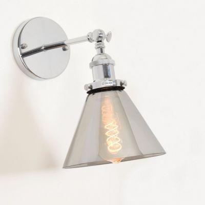 Kinkiet Lumina Deco LDW 6801-1 (CHR+GR) Nubi W1