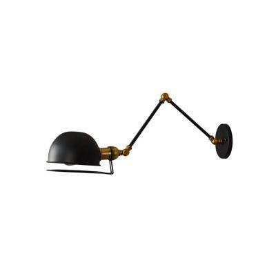 Kinkiet Lumina Deco LDW-B011-2-BK Glum W2