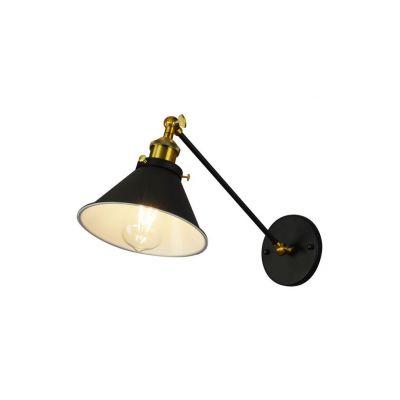 Kinkiet Lumina Deco LDW-B016-1-BK Gubi WT