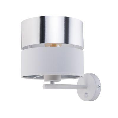 Kinkiet TK Lighting 4175 Hilton Silver