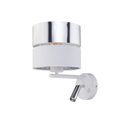 Kinkiet TK Lighting 4176 Hilton Silver