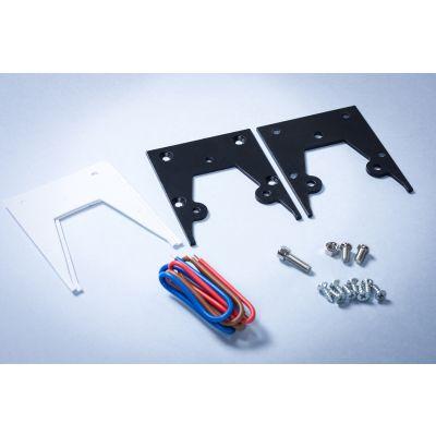 Konektor do opraw liniowych podwieszanych LED Linea - czarny