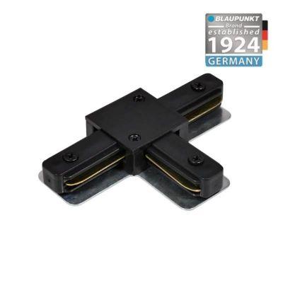 Konektor do szyn 1-fazowych T czarny Blaupunkt KT1B