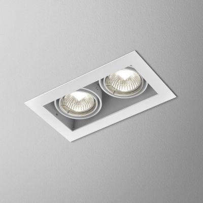 Lampa AQForm Squares 50 X 2 Recessed Biały Mat