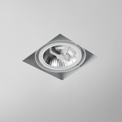 Lampa AQForm Squares 111 x 1 Trimless Recesed Biały Mat