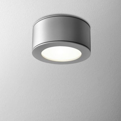 Lampa natynkowa AQForm Only Round 6 LED 230V Hermetic Surface Alu Mat