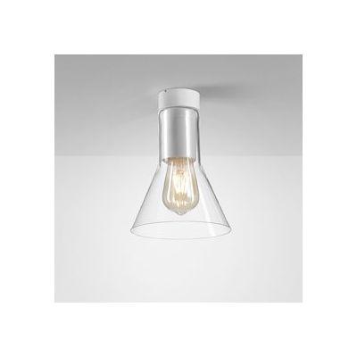 Lampa natynkowa AQForm 40405-0000-U8-PH-03 Modern Glass Flared E27 TP Surface Biały Mat