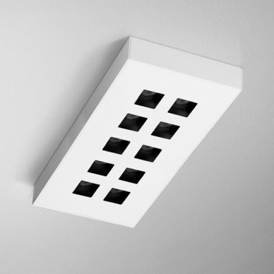 Lampa natynkowa AQForm Dark Points LED Surface Biały Mat