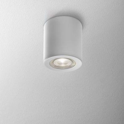 Lampa natynkowa AQForm Only Round Mini LED 230V Hermetic Surface Biały Struktura