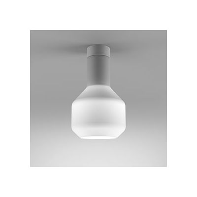 Lampa natynkowa AQForm 46931-0000-U8-PH-03 Modern Glass Barrel GU10 WP Surface Biały Mat