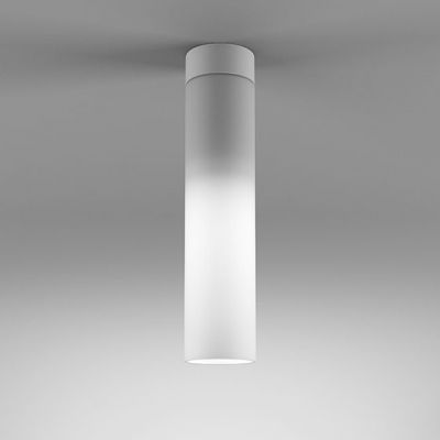 Lampa natynkowa AQForm Modern Glass Tube LED 230V WP Surface Biały Mat