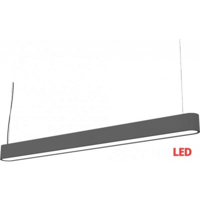 Lampa Nowodvorski Lighting 9543 zwis SOFT LED Graphite 120x6