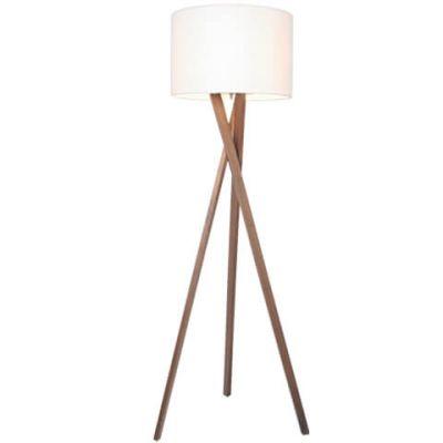 Lampa podłogowa By Rydens 4100020-6003 Vega Orzech H160 cm