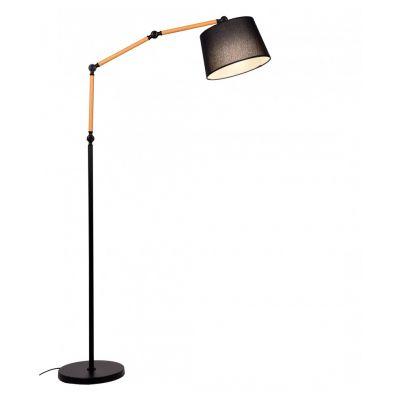 Lampa podłogowa Lumina Deco LDF-8305-BK Corsus