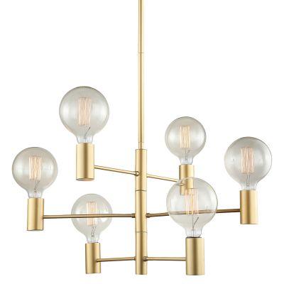 Lampa sufitowa Italux MDM3339-6-GD Veva