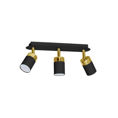 Lampa sufitowa Milagro MLP6125 Joker Black Gold 3