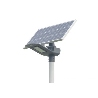 Lampa uliczna solarna LED Greenie 20W Bluetooth, PIR, wskaźnik RGB