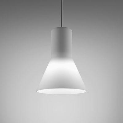 Lampa wisząca AQForm Modern Glass Flared GU10 Suspended Biały Struktura