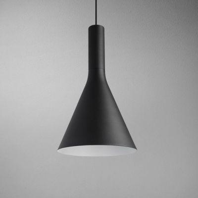 Lampa wisząca AQForm Morph Flared LED Suspended Czarny Struktura