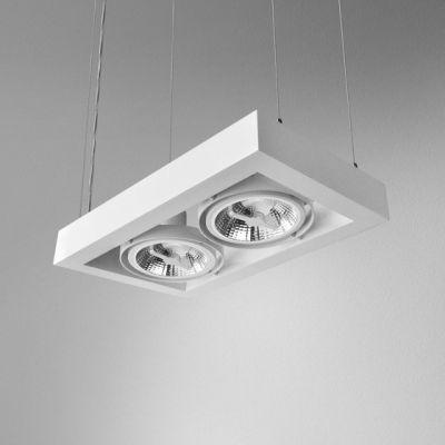 Lampa wisząca AQForm Cadra 111 x 2 Suspended Biały Struktura
