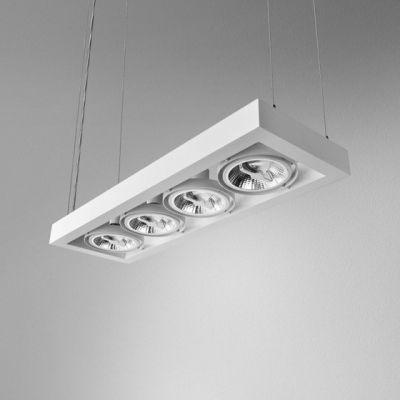 Lampa wisząca AQForm Cadra 111 X 4 Suspended Biały Mat