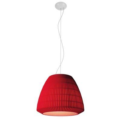 Lampa wisząca Axo Light Bell 045 Czerwona