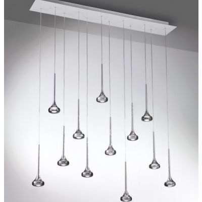 Lampa wisząca Axo Light Fairy Grey