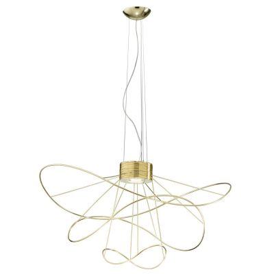 Lampa wisząca Axo Light Hoops 3 Gold