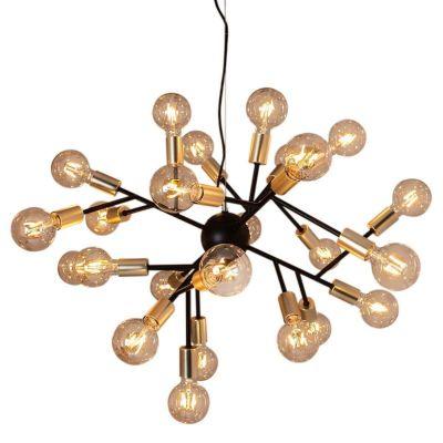 Lampa wisząca By Rydens 4200460-4002 Heroes Matt Black