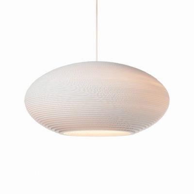 Lampa wisząca Graypants GP-1142-a Scraplights Disc24 white