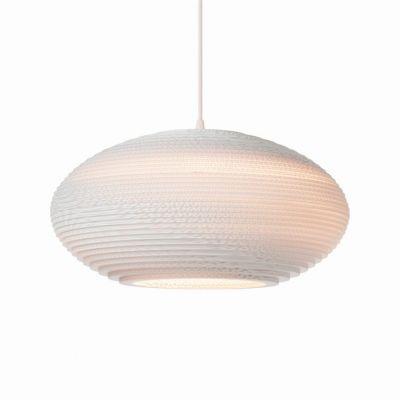 Lampa wisząca Graypants GP-1145-a Scraplights Disc20 white