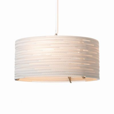 Lampa wisząca Graypants GP-1151-a Scraplights Drum18 white